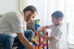 Jugando con papá